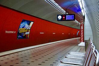 U-Bahnhof Trudering Gleis 1