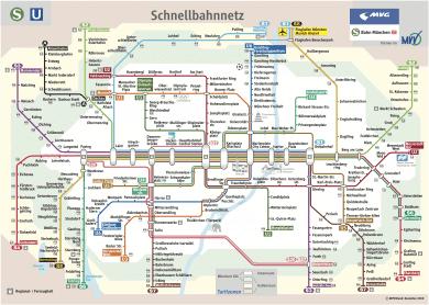 Schnellbahnnetzplan Dezember 2010