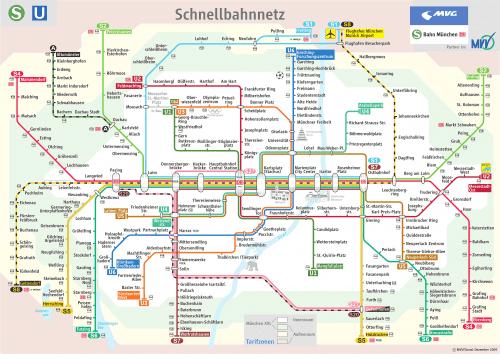 Schnellbahnnetzplan Dezember 2007