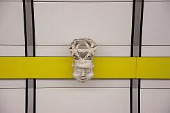 Künstlerische Gestaltung im U-Bahnhof Lehel