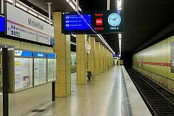 U-Bahnhof Michaelibad Gleis 2
