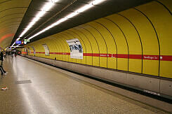 U-Bahnhof Sendlinger Tor vor dem Umbau