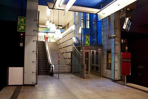 U-Bahnhof Candidplatz, nördlicher Zugang