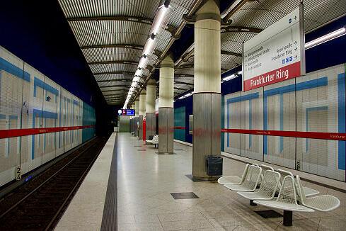 Frankfurter Ring Gleis 1