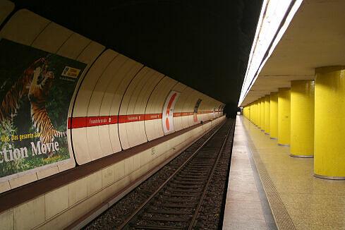 Fraunhoferstraße Gleis 2