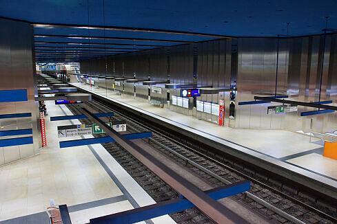 U-Bahnhof Olympia-Einkaufszentrum