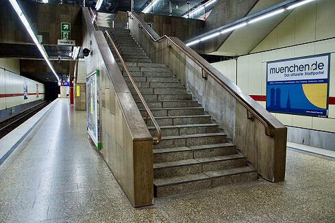 U-Bahnhof Theresienstraße