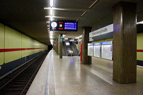 U-Bahnhof Untersbergstraße