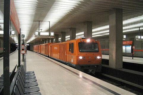 Staubsaugerzug am Scheidplatz
