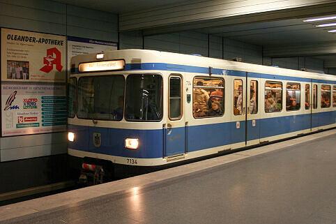 A-Wagen 134 am Goetheplatz