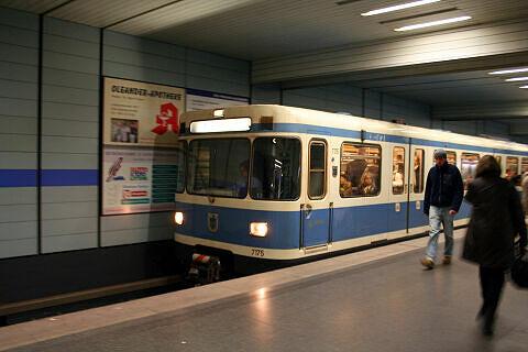A-Wagen 175 am Goetheplatz