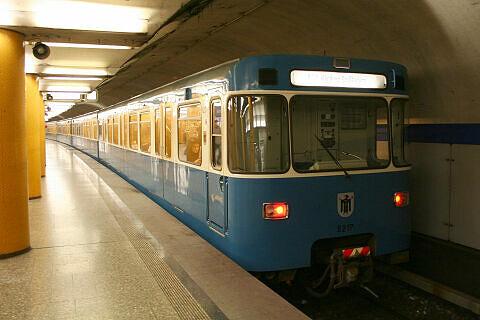 A-Wagen 217 an der Poccistraße