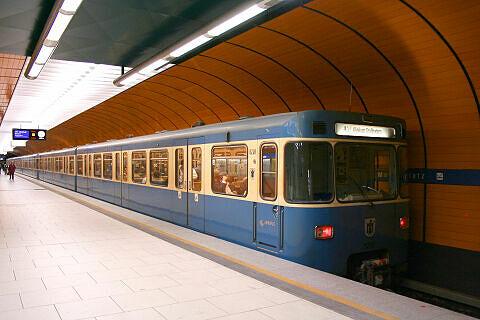 A-Wagen 248 am Marienplatz