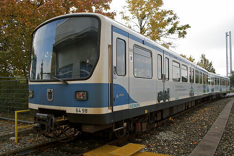 B-Wagen 498 in der Technischen Basis