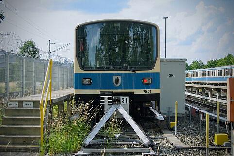 B-Wagen 506 in der Betriebsanlage Süd