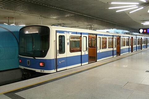 B-Wagen 517 in Garching-Forschungszentrum