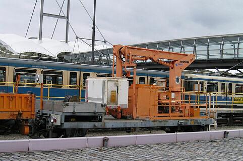 Ruthmann Steiger 9981 (Hebebühne) im Betriebshof Nord