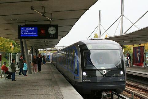 C-Zug 618 in Garching-Hochbrück