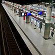 Einfahrender C-Zug am Frankfurter Ring